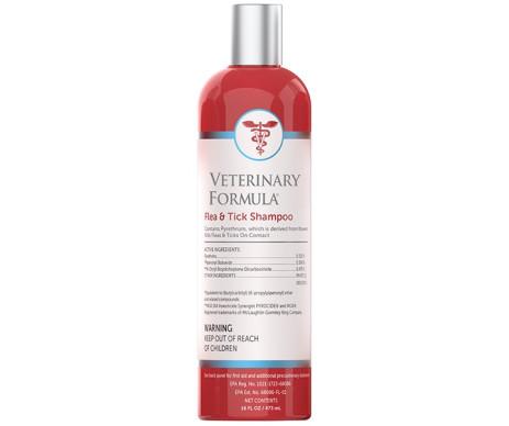 Veterinary Formula Advanced Flea&Tick Shampoo ОТ БЛОХ И КЛЕЩЕЙ для собак