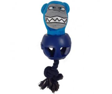 Joyser Cageball Ball&Bear МЕДВЕДЬ С МЯЧОМ игрушка с пищалкой для собак