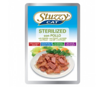 Stuzzy Cat Sterilized Chicken