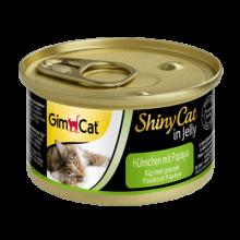 GimCat Shiny Adult Chicken Papaya Jelly