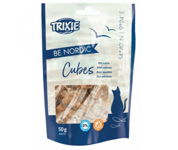 Trixie BE NORDIC Salmon Cubes кубики с лососем