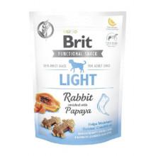 Brit Care Light Лакомства кролик с папайей для собак