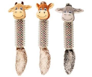 Flamingo Cow/Horse/Donkey Spines мягкая игрушка для собак