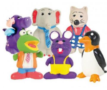 Trixie Животные с пищалкой латексная игрушка