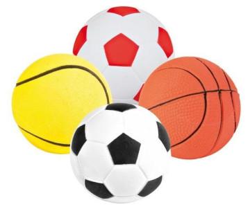 Trixie Мяч резиновый ассорти игрушка для собак