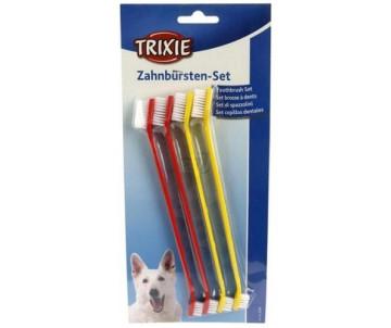 Trixie Набор зубных щеток для собак