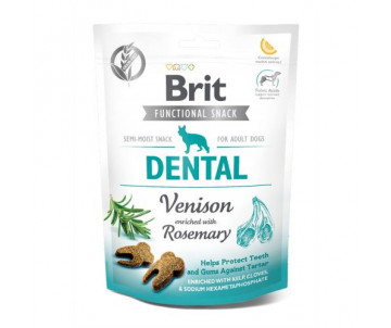 Brit Care Dental Лакомства оленина с розмарином для собак