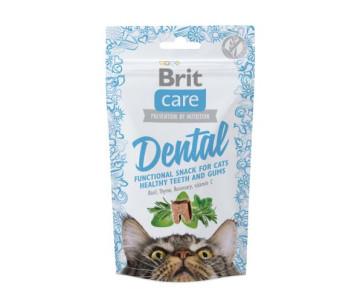 Brit Care Dental Лакомства с индейкой для котов