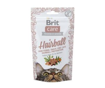 Brit Care Hairball Лакомства с уткой для котов