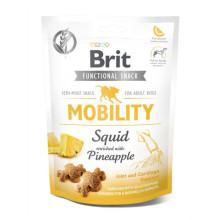 Brit Care Mobility Лакомства кальмар с ананасом для собак