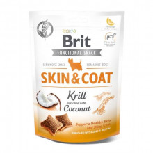 Brit Care Care Skin&Coat Лакомства криль с кокосом для собак