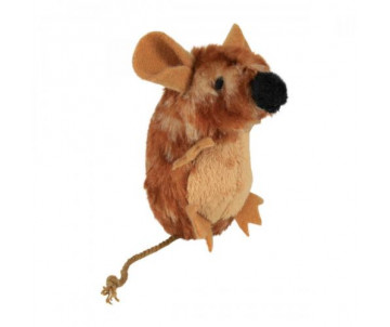 Trixie Мышка с пищалкой плюш