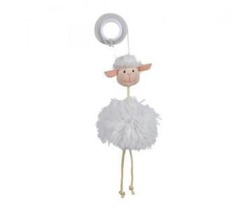 Trixie Овечка с погремушкой на резинке