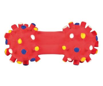 Trixie Гантель игольчатая латексная игрушка