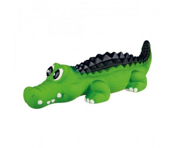 Trixie Крокодил с пищалкой латексная игрушка