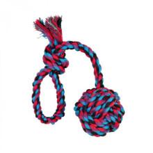Trixie Мяч плетёный с ручкой игрушка для собак