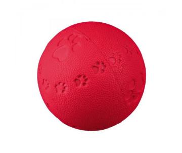 Trixie Мяч литой с лапкой и пищалкой