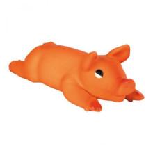 Trixie pig с пищалкой латексная игрушка