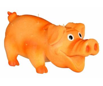 Trixie Свинка со щетиной с пищалкой латексная игрушка