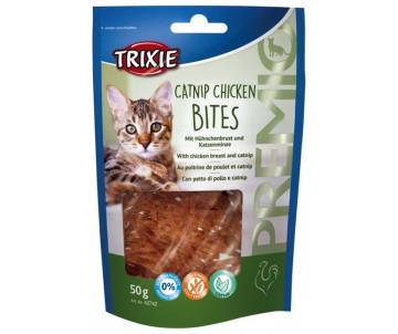 Trixie PREMIO Catnip Chicken Bites куриное филе/кош. мята