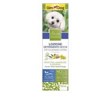 GimDog Natural Solutions лосьйон для чистки глаз для собак