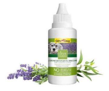 GimDog Natural Solutions лосьйон для чистки ушей для собак