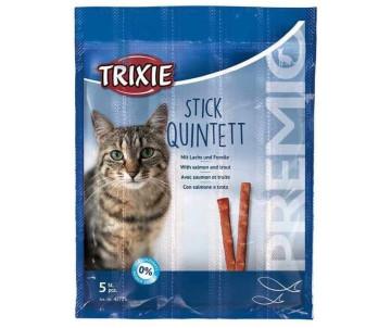 Trixie PREMIO Quadro-Sticks Палочки лосось / форель