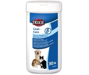 Trixie Coat Care Салфетки с алоэ вера универсальные