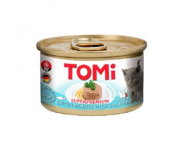TOMi Cat Kitten Salmon mousse
