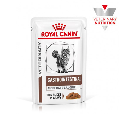 Royal Canin VD Cat GASTRO-INTESTINAL MODERATE CALORIE Wet