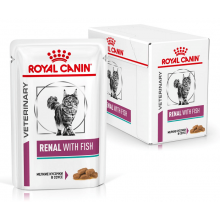 Royal Canin VD Cat RENAL WITH FISH Wet