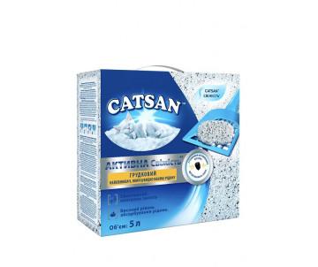 Catsan Active Fresh Наполнитель комкующийся с активированным углем