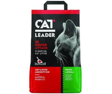 Cat Leader Clumping 2xOdour Attack Fresh ультра-комкующийся наполнитель в кошачий туалет