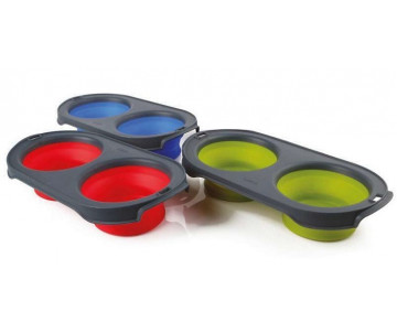 Dexas Collapsible Pet Feeder bowl Миска складная, 1200 мл