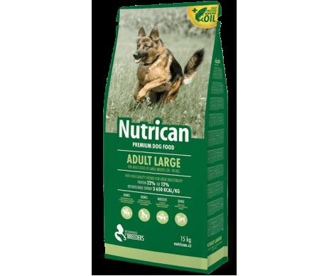 Nutrican Adult Large Сухой корм для собак крупных пород со вкусом курицы