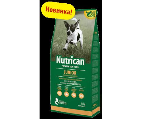 Nutrican Junior Сухой корм для щенков со вкусом курицы