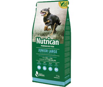 Nutrican Dog Junior Large Chicken