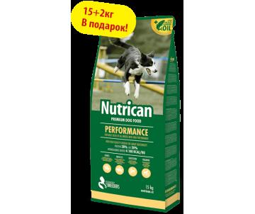 Nutrican Performance Сухой корм для взрослых собак крупных пород со вкусом курицы