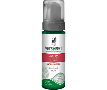 Vet's Best Hot Spot Foam Моющая пена против зуда и раздражений для собак