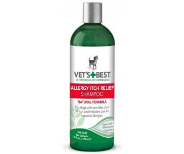 Vet's Best Allergy Itch Relief Shampoo Шампунь для собак с чувствительной кожей