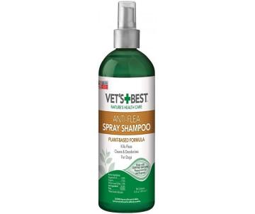 Vet's Best Natural Anti-Flea Spray-Shampoo Шампунь-спрей от блох для собак