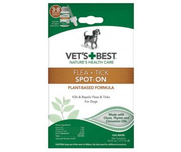 Vet's Best Flea Tick Spot-on Капли от блох и клещей для собак