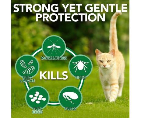 Vet's Best Flea Tick Home Spray Cats Спрей от блох, клещей и москитов для кошек и дома