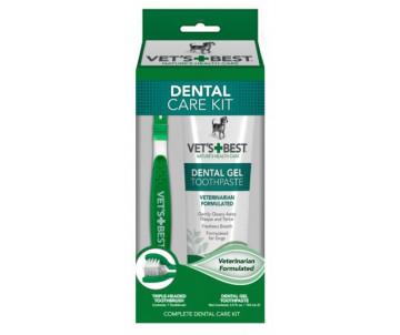 Vet's Best Dental Care Kit Набор для гигиены полости рта собак