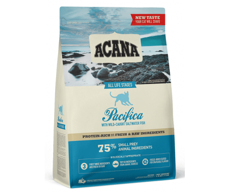 Acana Pacifica Cat Сухой корм для кошек всех пород с рыбой