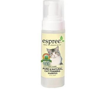 Espree Purrn'Natural Cat&Kitten Foaming Shampoo Шампунь-пена для экспресс чистки для котов
