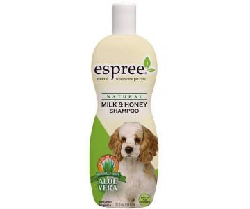 Espree Milk & Honey Shampoo Восстанавливающий шампунь из Молока и Мёда для длинношерстных собак