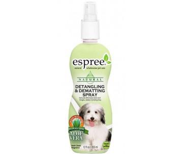 Espree Detangling and Dematting Spray Cпрей молочко для удаления колтунов и снижения сбитости шерсти для собак
