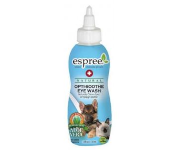 Espree Optisoothe Eye Wash Смягчающее моющее средство и ополаскиватель для глаз с алоэ для собак и кошек