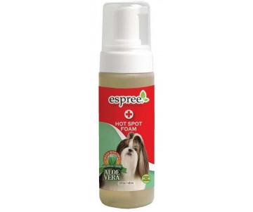 Espree Hot Spot Foam Лечебная пена для мытья с маслом чайного дерева, ромашкой и алоэ для собак